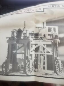 HO, Scale Structures Limited, Kit R-103, Gerlinger Lumber Carrier Circa 1920
