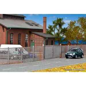 Kibri 38605 1/87 Ho Model Fence Trellis Grey H0