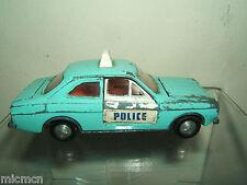 DINKY TOYS MODEL No.270 FORD ESCORT  'POLICE' PANDA CAR