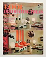 1,001 DECORATING IDEAS 1970 Ultra Modern INTERIOR DESIGN Furniture Products