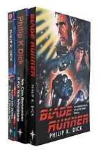 Philip K Dick 3 Books Science Fiction Blade Runner Flow My Tears New