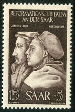STAMP /  FRENCH COLONIES / SAAR / SARRE  N° 295 ** CALVIN ET LUTHER