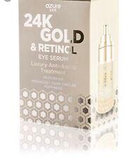 New ~ Azure Lux 24K Gold & Retinol Eye Serum Anti-Aging Treatment ~ 1oz