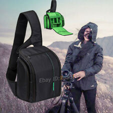 Waterproof DSLR Camera Bag Padded Travel Bag Daypack Shoulder Bag Chest Bag Pack