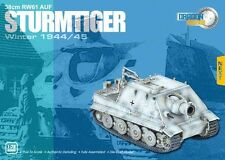 1/72 Dragon Armor  #60025 WWII Sturmtiger Winter 38cm RW61 AUF 1944/45