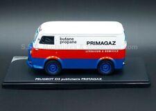Peugeot D3 butane propane PRIMAGAZ 1/43 ELIGOR 101506