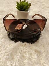 Zoo York Eyewear 100% UV Protection Brown Tinted Lens Sunglasses New