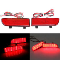 2x Rear Bumper Reflector Brake Light Fit For Benz W906 Sprinter Vito Viano W639