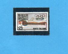 OLYMPIA 1896-1972-PANINI-Figurina n.85-B  Riproduzione francobollo -Rec
