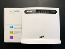 Huawei B593u-12 LTE Router bis 150 Mbit/s WLAN Router inkl 2 x Antenne VoIP Funk
