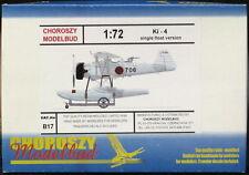 Choroszy Models 1/72 NAKAJIMA Ki-4 Japanese Floatplane Single Float Version