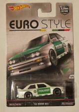 Hot Wheels 1:64 Euro Style - '92 BMW M3 Polizei. Brand new