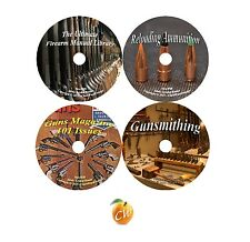 Firearm Master Series Gun Manuals Reloading Gunsmithing Guns Magazine 4 DVD Set