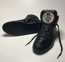 Gucci High Top Sneaker Noir Size 8/Taille 42