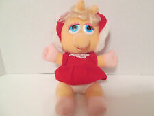Vintage 1988 McDonald's Promotional Muppet Babies Baby Miss Piggy Christmas