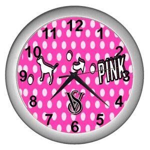 Victoria Secret Pink Dog wall clock