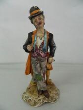 Statua di porcellana Ubriacone Scuola italiana Capodimonte OMA19