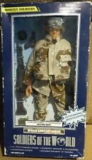 "Soldiers of the World U.S. Machine Gunner 10th Mountain Div Restore Hope 12"" NEW"