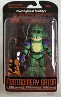 Funko Five Nights Freddys Security Breach Montgomery Gator Rare Boxed Figure Toy