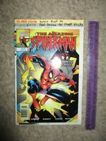 Amazing Spider-Man 434 COVER PRODUCTION ART Buckingham 4 COLOR SEPARATIONS 1998