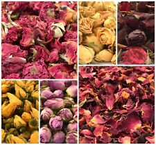 Rose Buds, Dried Rose Petals, Soap Craft Candle Wedding Potpourri TOP QUALITY