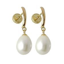 9ct Gold & Freshwater Pearl Screwback Stud Earrings Screw Back Studs Pearls