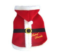 High Quality Dog Costume SWEET SANTA COSTUMES Festive Christmas Dogs Outfit