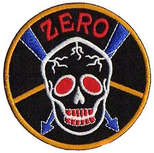 Patch écusson patche Zero Militaire Army DIY hotfix thermocollant
