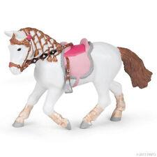 *NEW* PAPO 51526 Walking Pony / Horse - Braided Mane Saddle Bridle Reins Inc