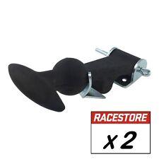Rubber Bonnet Hooks Straps Catches (PAIR) -Race Rally Motorsport Track Kit Car