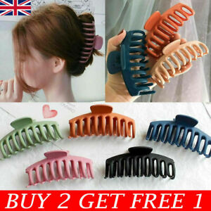 Lady Cute Hair Claw Clips Hair Claw Large Size Hair Clamps Hair Accessories UK