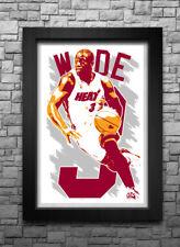 DWYANE WADE art print/poster MIAMI HEAT FREE S&H