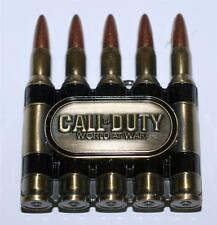 CALL OF DUTY World At War Video Game X Box BULLET AMMO Unisex BELT BUCKLE New