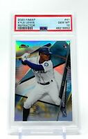 Kyle Lewis 2020 Topps Finest Refractor Rookie #41 RC PSA 10 Gem Mint Mariners