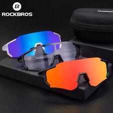 RockBros fotocromáticas polarizada Lente Gafas De Ciclismo Gafas Gafas de sol Gafas