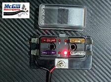 Fuse Box ,Intelligent LED Warning of Fuse Failure! 4 WAY,12V DC Rally F2 Hot Rod