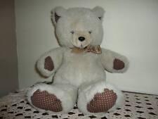 Ganz Heritage Vintage 1985 Bertan Bear Polka Dot Paws 17 inch