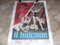 MANIFESTO IL BALCONE 1964 PETER FALK  DESETA    C