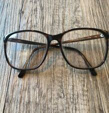Vtg 70/80's Wilshire Designs Oversized Square Tortoise Shell Eyeglasses Frames