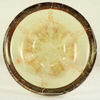 WMF Ikora Glas Schale Teller Art Deco Karl Wiedmann Vintage Ø 35 cm 30er Jahre