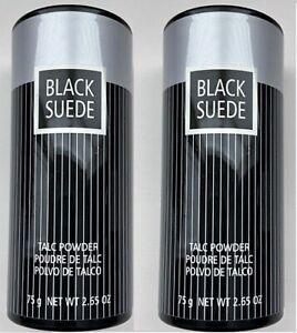2x AVON * BLACK SUEDE * Men's Talc * 2.65 oz * Body Powder * Pair