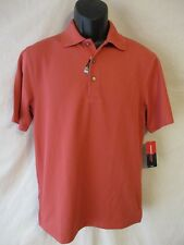 Grand Slam Performance Polyester Size S Solid Mineral Red 15 UPF Polo SR$45 NEW