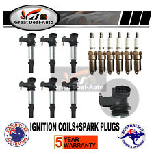 Ignition Coils for Holden Commodore Crewman VZ RA CAPRICE WL V6 3.6L Spark Plug