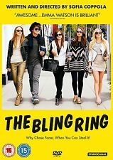 The BLING RING dvd + FREE book EMMA WATSON Katie Chang LESLIE MANN Sofia Coppola