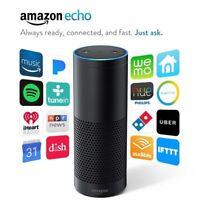 NEW Amazon Echo First Gen Alexa Bluetooth Speaker Smart Voice Recognition Black