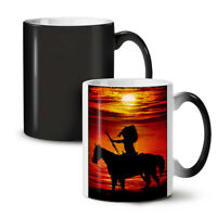 Horse Sea Sunset NEW Colour Changing Tea Coffee Mug 11 oz | Wellcoda