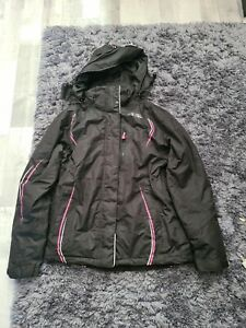 Ladies No fear ski jacket size 10 with matching gloves