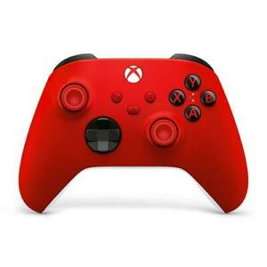 Open Box: Xbox Wireless Controller Pulse Red - Wireless And Bluetooth Connectivi