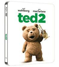 TED  2 blu ray Steelbook ( Korea )  Region Free ( NEW ) English Audio