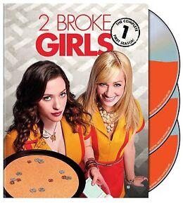 2 Broke Girls Complete First Season Series 1 TV Show DVD NEW Kat Dennings Comedy
